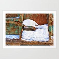 Remnants of Winter Art Print