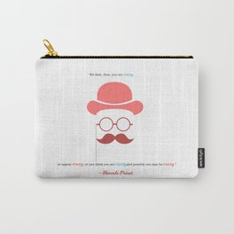 Hercule Poirot Carry-All Pouch