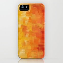 Awaken - Abstract Expressions Art by Jai Johnson iPhone Case
