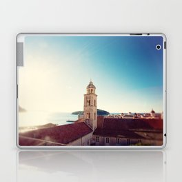 View of the Sea in Dubrovnik Croatia Laptop & iPad Skin