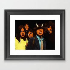 ACDC Framed Art Print