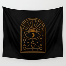 Symbol sacred geometry Wall Tapestry