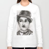 charlie Long Sleeve T-shirts featuring Charlie by sladja