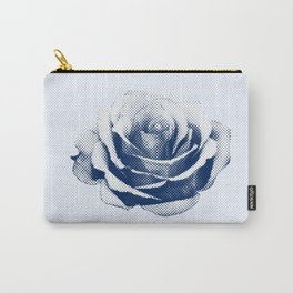 HALFTONE ROSE Carry-All Pouch