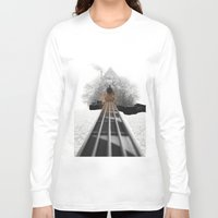 bass Long Sleeve T-shirts featuring bass by Ilenia Locci
