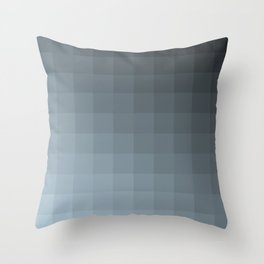 Shades of Slate Throw Pillow