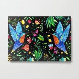 Kolibri Metal Print