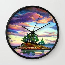 Skedans Islet Wall Clock