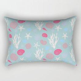 In te Sea - Green pastel Rectangular Pillow