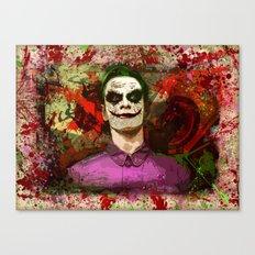 Fassbender as...The Joker! (final) Canvas Print