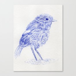 Chicky Doodle art print #1 Canvas Print