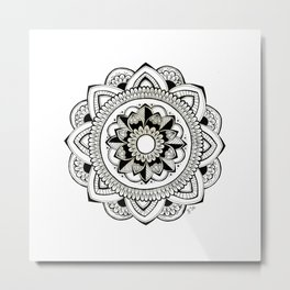 Flowering Thoughts Metal Print