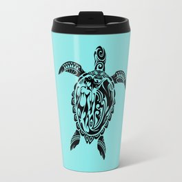 Tribal Honu Travel Mug
