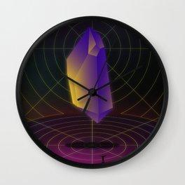 Diamond Dimensions #2 Wall Clock