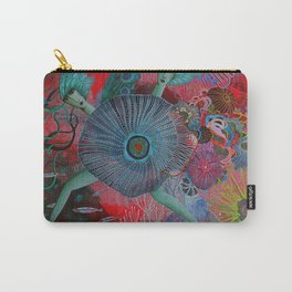 Coral Sisters Carry-All Pouch