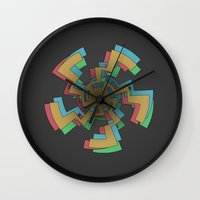 celtic Wall Clocks featuring Caustic Celtic by Charles Emlen