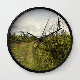 a path in the highlands Wall Clock