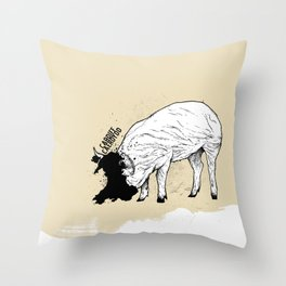 Locals Only - Cardiff, Wales Throw Pillow