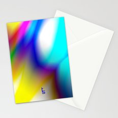 Flaming Aura I Stationery Cards