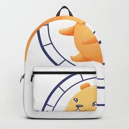 Hamster wheel sweet Backpack