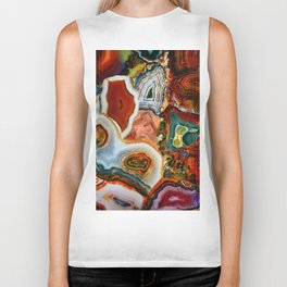 The Earth for the all-pervading Skies, the Moon and the Sun Biker Tank