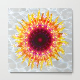 sunflower happiness Metal Print