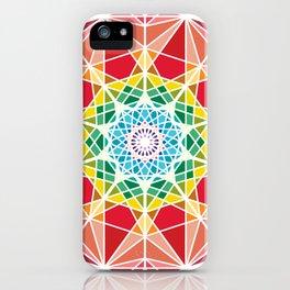 Organic Mandala ornament iPhone Case