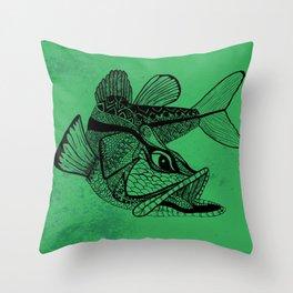 Snook Throw Pillow