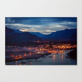 Beautiful Squamish Canvas Print