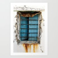 rusty view Art Print