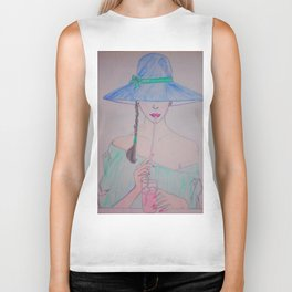 Kissable #Society6 #buyart #decor Biker Tank