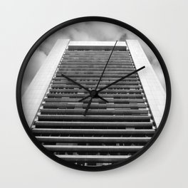 skyscraper Wall Clock