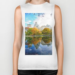 City's Autumn Biker Tank