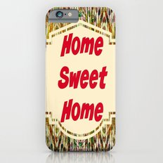 Stained Glass Home Sweet Home  Slim Case iPhone 6s