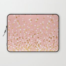 Floating Confetti - Pink II Laptop Sleeve