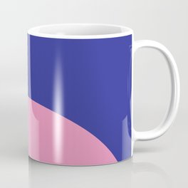 Blue Rising Coffee Mug