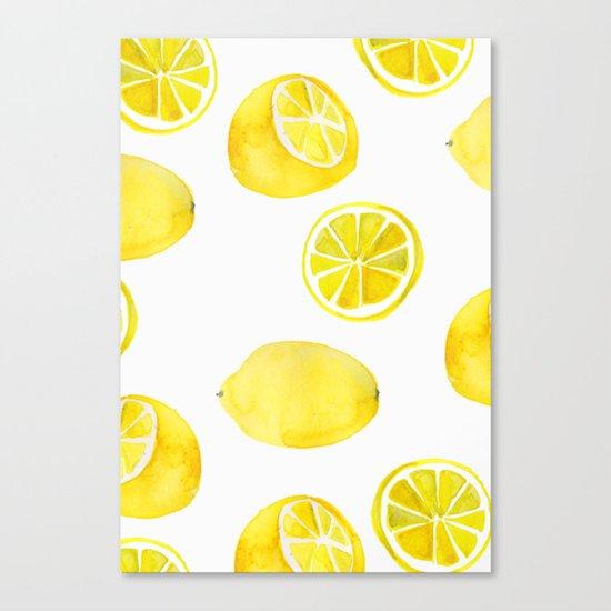 Lemon -ade Canvas Print