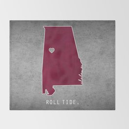 Roll Tide Throw Blanket