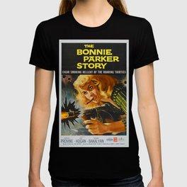 The Bonnie Parker Story, 1959 (Vintage Movie Poster) T-shirt