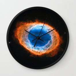 Ring Nebula, Messier 57 Wall Clock
