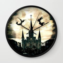 Come Into This House Wall Clock