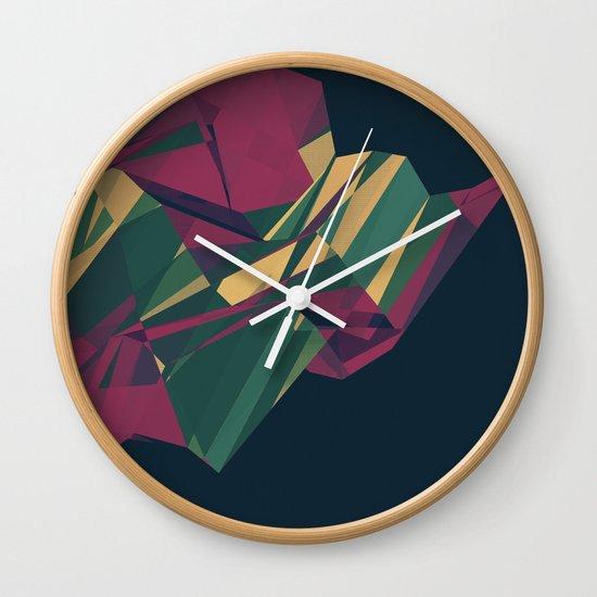 Crystalline 1 Wall Clock