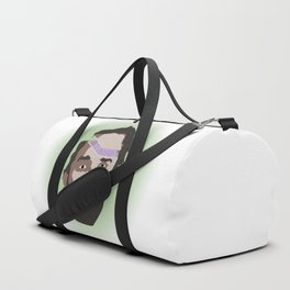 Ripped Forehead Duffle Bag