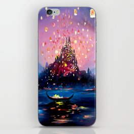 I see the lights iPhone Skin