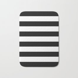 black stripes Bath Mat