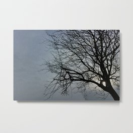 sun is hiding Metal Print