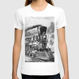 The Express Train 1870 T-shirt