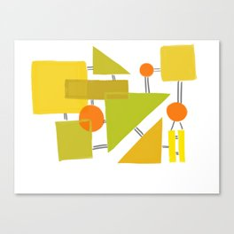 The 70s Canvas Print