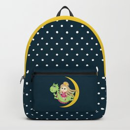 Pretty Princess and Mr Dragon Backpack