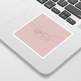 Blush Pinky Sticker